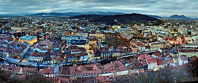 How to get to Ljubljana-center with public transit - About the place