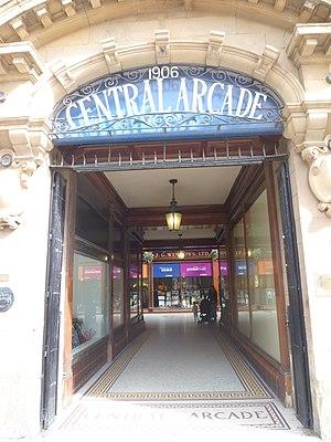 Central Arcade, Newcastle upon Tyne - Image: Central Arcade, Grey Street, Newcastle Upon Tyne (9301341140)