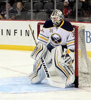 Chad Johnson (ice hockey) Canadian ice hockey goaltender