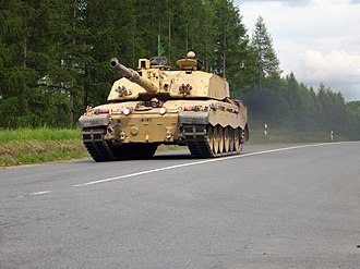 Royal Tank Regiment - The 2nd Royal Tank Regiment with the Challenger 2 MBT during live-fire training exercises in Germany in 2004.