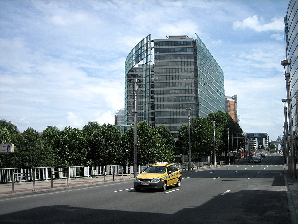 Charlemagne building across rdll
