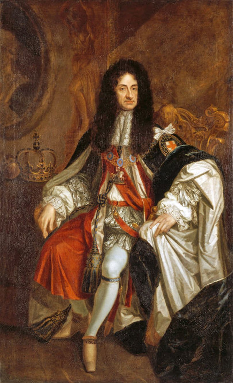 Charles II of England by Kneller