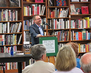 Charles King (professor of international affairs) - Georgetown University Professor Charles King speaking on his book, Midnight at the Pera Palace: The Birth of Modern Istanbul (2014), at Politics and Prose book store, Washington, D.C., 21 September 2014