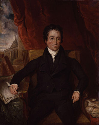 Charles Lamb - Portrait by Henry Hoppner Meyer