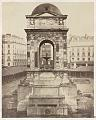 Charles Marville - Fountain of the Innocents, Paris, France - Library of Congress.tif
