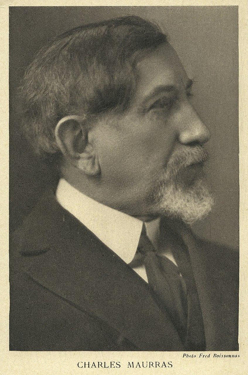 Charles Maurras - photo Frédéric Boissonnas
