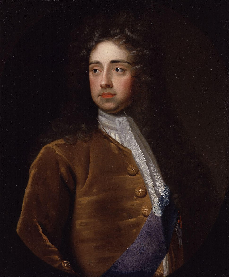 Charles Talbot, 1st Duke of Shrewsbury by Sir Godfrey Kneller, Bt