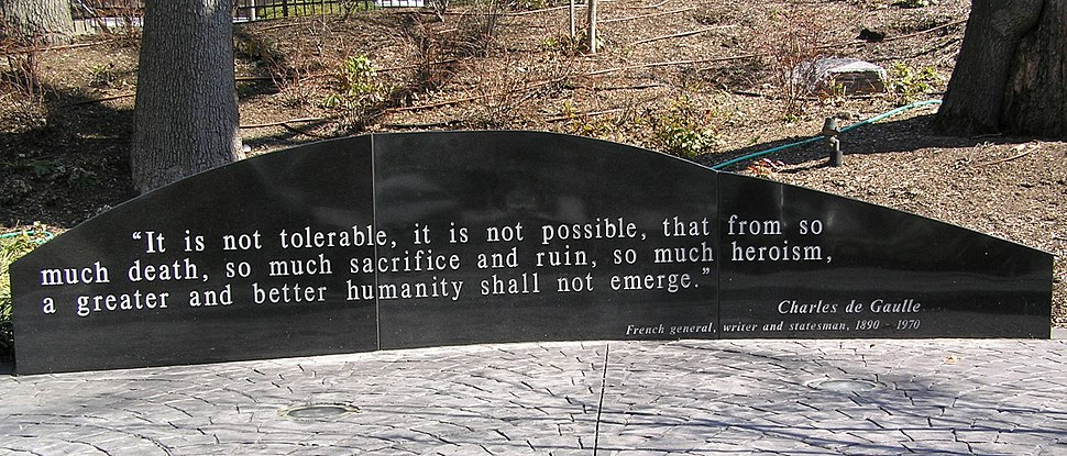 Charles de Gaulle Quotation 2011