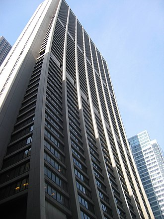Bank One Corporation - The Chase Tower (formerly the Bank One Plaza) housed the Bank One headquarters