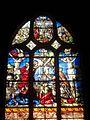 Chaumont-en-Vexin (60), église Saint-Jean-Baptiste, verrière n° 10 CMH - descente de Croix.JPG
