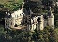 Chaumont-sur-Loire castle, aerial view cropped.jpg