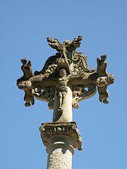 croix de cimetière de Chavençon