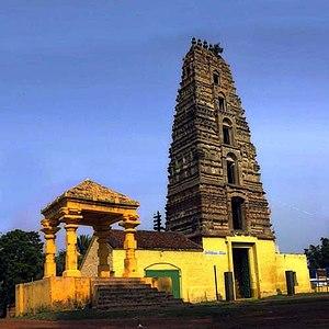 Chebrolu, Guntur district - Chebrolu Temple Gopuram