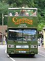 Cheddar Gorge Tour bus (A860 SUL), 1983 Leyland Titan B15 (T860), 31 August 2010 (2).jpg
