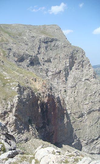 Aroania (mountain) - Slopes of Neraidorachi and the Styx Waterfall