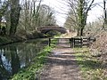 Chesterfield Canal - Approaching Bridge No 32 (Thorp Bridge) - geograph.org.uk - 747793.jpg
