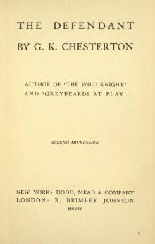 Chesterton - The Defendant, 1904.djvu