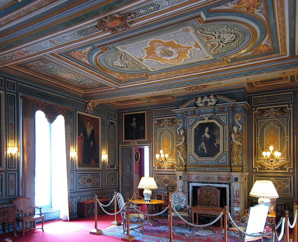 Le Grand Salon, Château de Cherverny