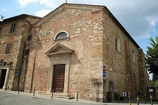 Chiesa di Santa Caterina, Colle di Val d'Elsa, esterno