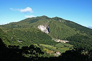 Yangmingshan - Seven Star Mountain with hot springs on the side