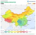 China DNI Solar-resource-map GlobalSolarAtlas World-Bank-Esmap-Solargis.png