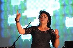 Chipzel - Chipzel performing at Blip Festival in 2011