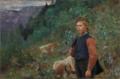 Christian Skredsvig - The Poet Vinje as Shepherd Boy - Vinje som gjetergutt - Nasjonalmuseet - NG.M.03642.png