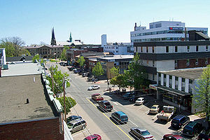 University Avenue in Charlottetown, Prince Edw...