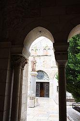 Church of Saint Catherine courtyard, Bethlehem 5.jpg