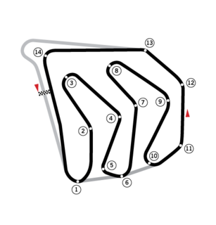 1982 Caesars Palace Grand Prix racing