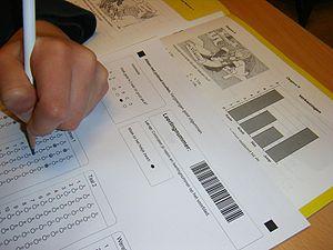 standardized testing cons