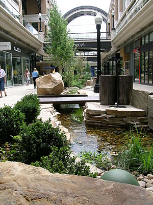 City Creek (Utah) - City Creek flowing through City Creek Center in downtown Salt Lake City.