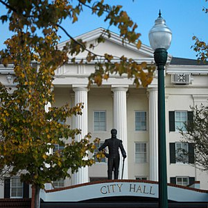 City Hall in Jackson
