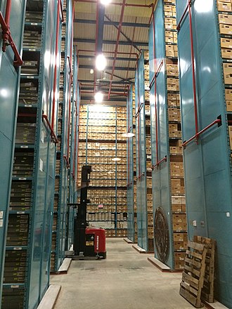 City of Toronto Archives - A portion of the City of Toronto Archives holdings
