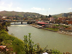 View on Zakho from Delal Bridge