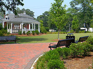 Dallas, Georgia - Image: Civil War Trailhead Park on Main Street Dallas GA