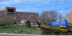 Clara Maass Medical Center - Image: Clara Maas Med Ctr Newark jeh