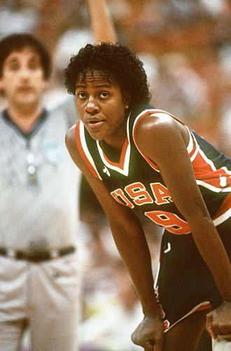 Clarissa Davis - Davis at the 1987 Pan American Games
