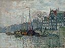 Claude Monet - View of the Prins Hendrikkade and the Kromme Waal in Amsterdam - Google Art Project.jpg