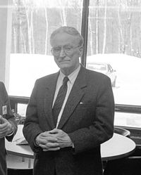 Claude Ryan, Minister of Education, former leader of Quebec Liberals, 1988.jpg