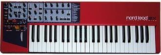 Clavia - Image: Clavia Nord Lead 2x front
