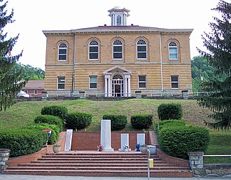 Clay County, West Virginia - Image: Clay County Courthouse West Virginia