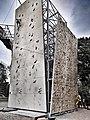 Climbing Wall, Indian Mountaineering Federation center, New Delhi.jpg