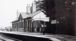 Clowne and Barlborough railway station