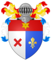 Coat of arms - CLOU male - with helmet.png