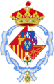 Coat of arms of Infanta Cristina of Spain, Duchess of Palma de Mallorca.png