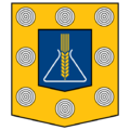Coat of arms of Jonava 1970.png