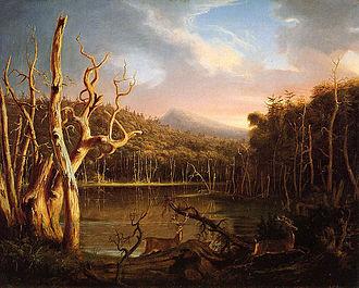 Lake with Dead Trees - Lake with Dead Trees (Catskill) 1825