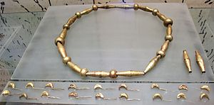 Regolini-Galassi tomb - necklace from the Regolini-Galassi tomb 675-650 BC