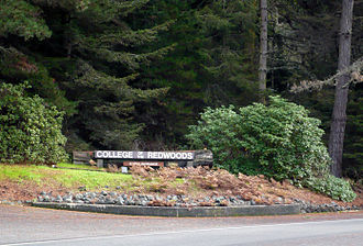 College of the Redwoods - College of the Redwoods North Entry